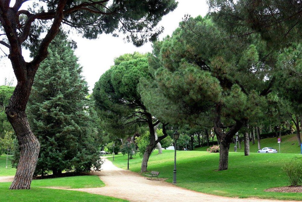 Parques de Madrid: Parque del Oeste Madrid