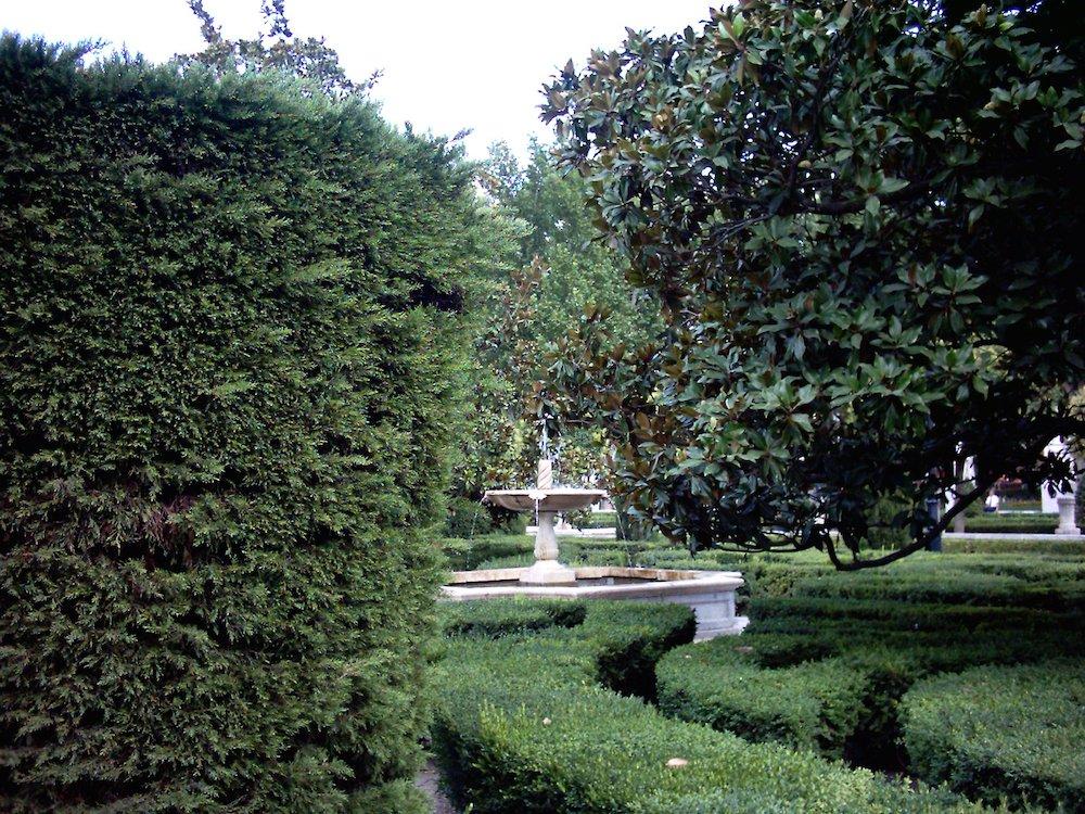 Parques de Madrid: Jardines de la Plaza de Oriente Madrid
