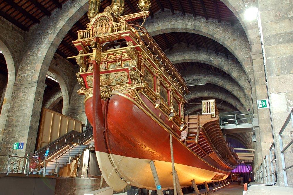 Barcelona con niños, museu maritim