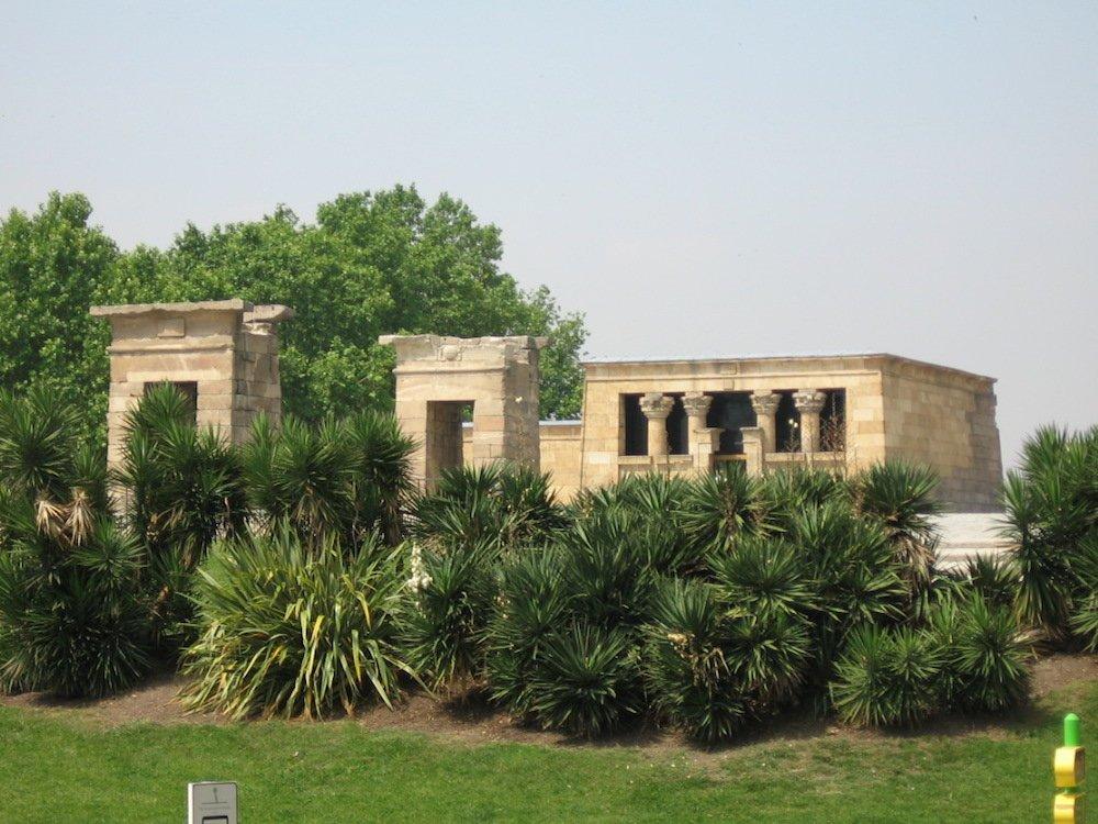 Parques de Madrid: Jardín del Templo de Debod Madrid