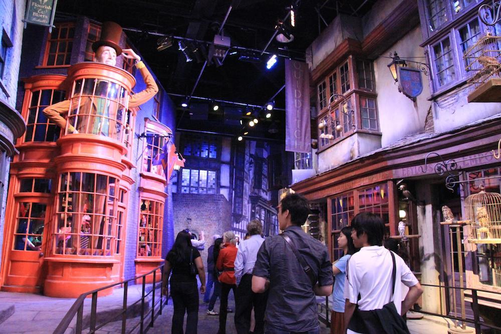 Londres con niños, Harry Potter
