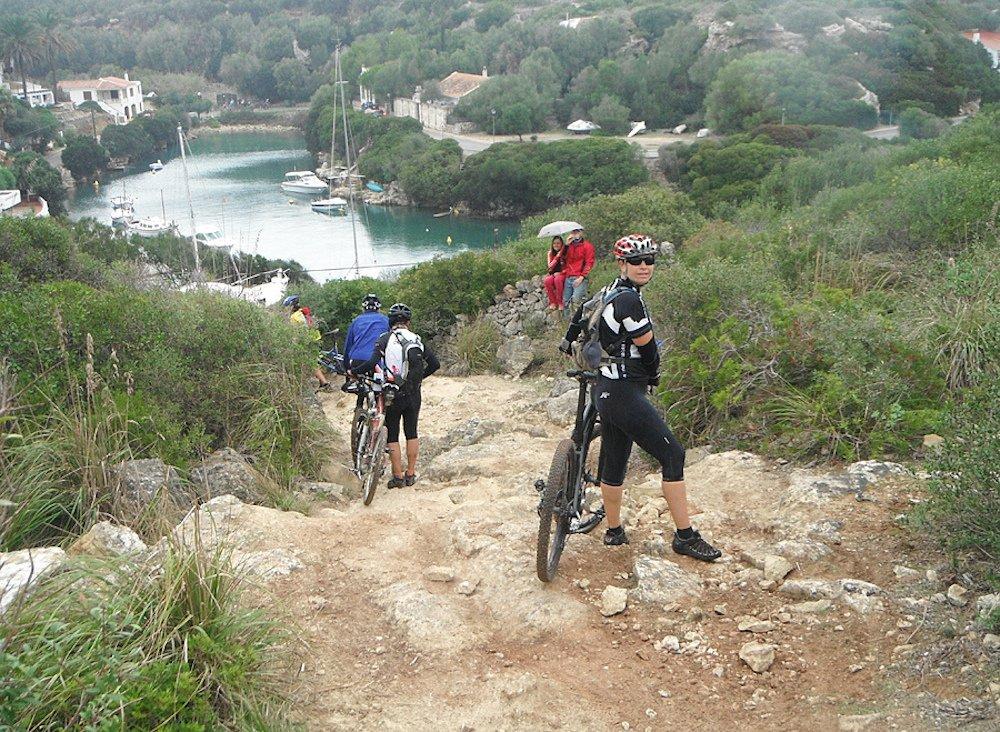 Menorca con niños, cicloturismo