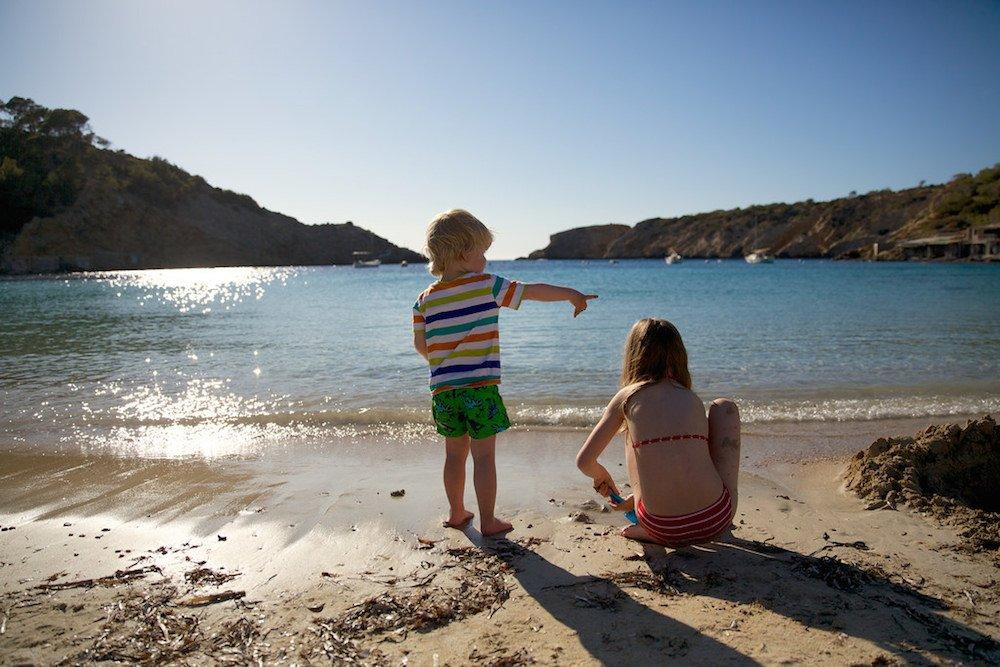 Vacaciones con niños en Ibiza