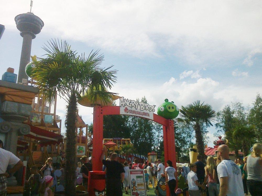 Parques temáticos, Angry Birds Land