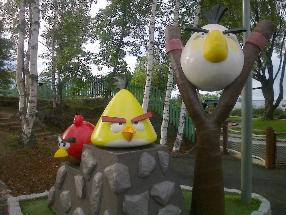 Parque temático de Angry Birds