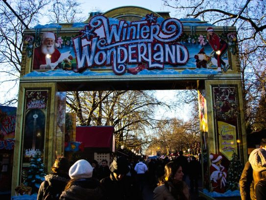 Londres con niños en Navidad