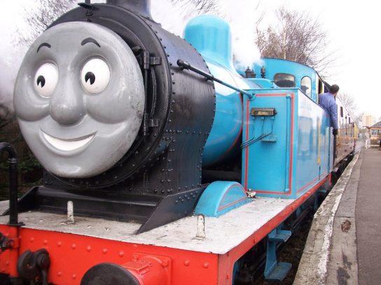 Londres con niños, con el tren Thomas