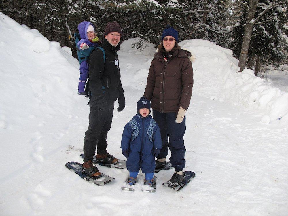 Viajar con niños a la nieve