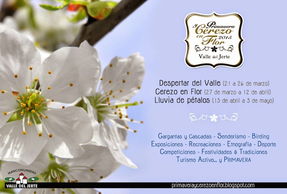 Fiesta del Cerezo en Flor del Valle de Jerte