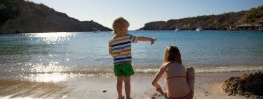 Mejores playas para ir con niños
