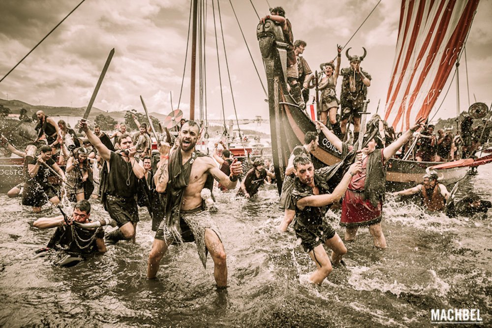 Planes con niños, Romería Vikinga