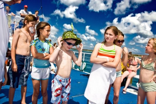 Cruceros con niños
