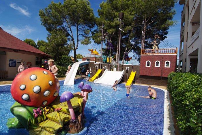 hoteles para niños en España