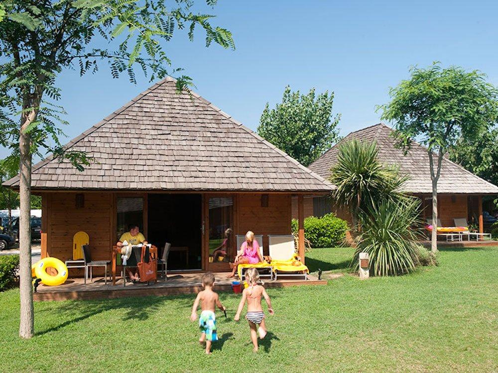 Camping para niños