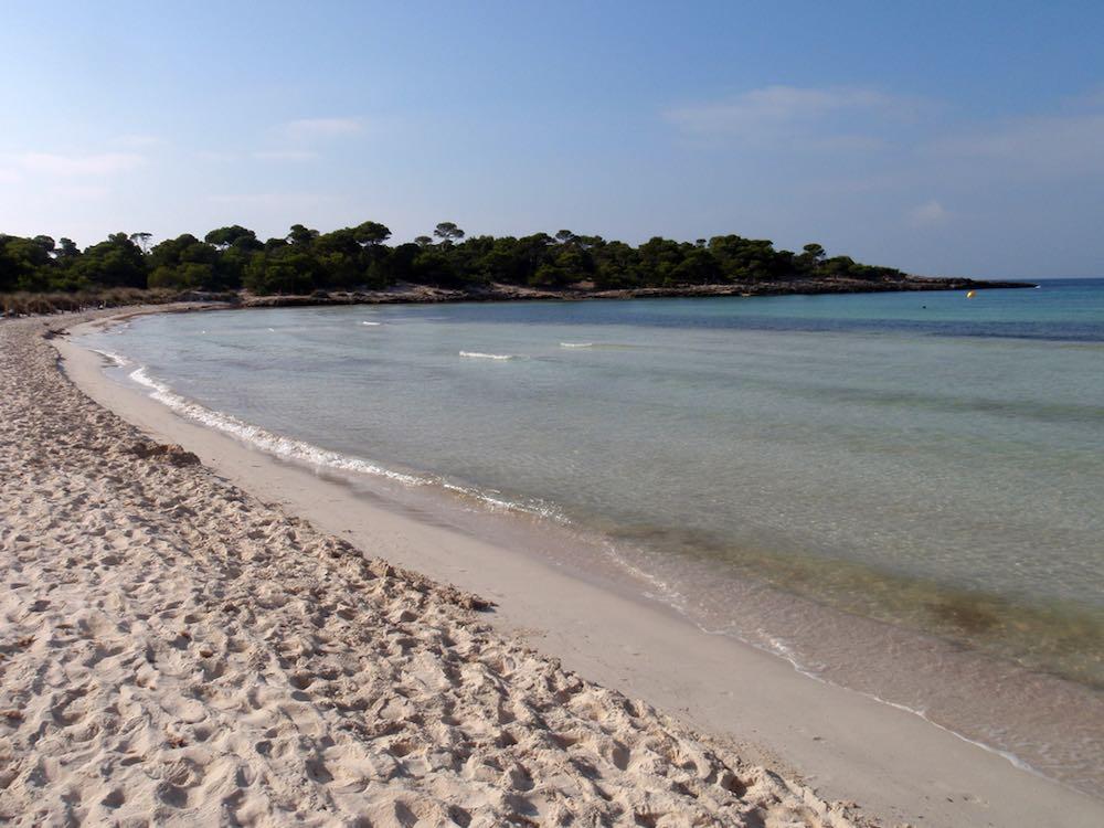 Playas para ir con niños en Menorca