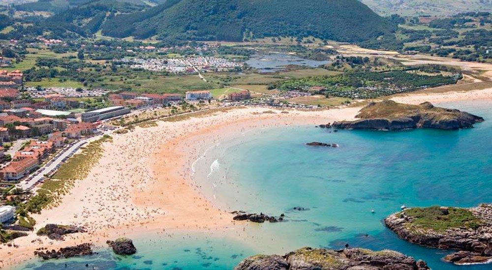 camping playa Joyel naturaleza y playa