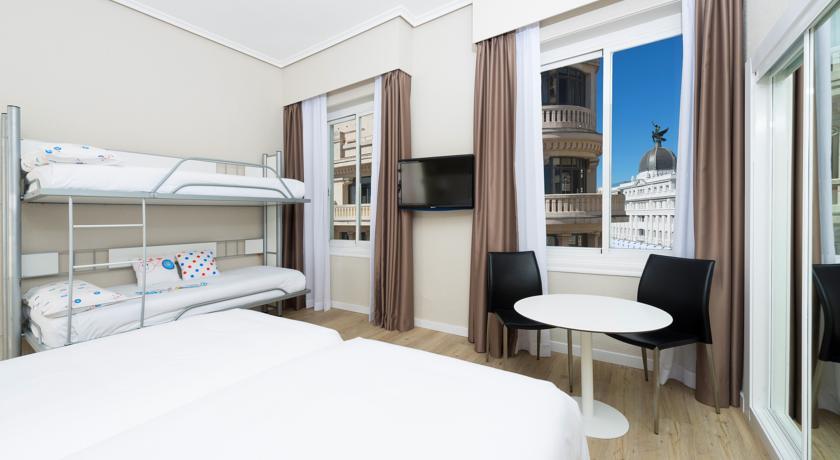 Hoteles familiares en Madrid