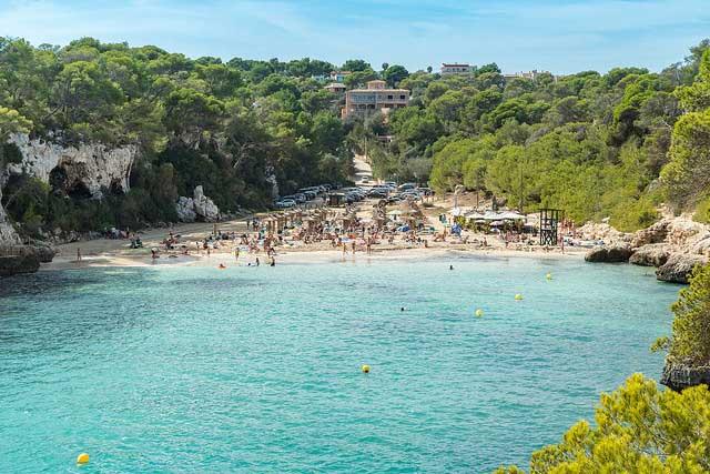 Cala Llombards para niños Mallorca