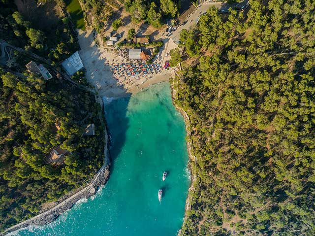 cala Mondragó Mallorca playas