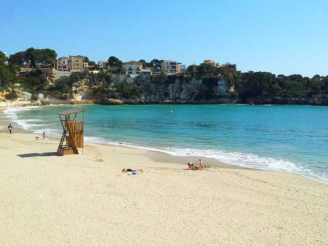Playa porto cristo mallorca con niños