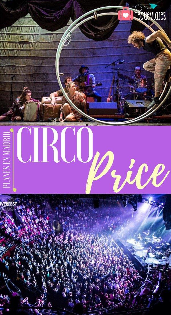 Circo Price entradas